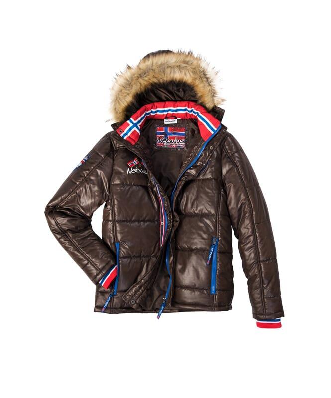winter jacket NANGA Men braun