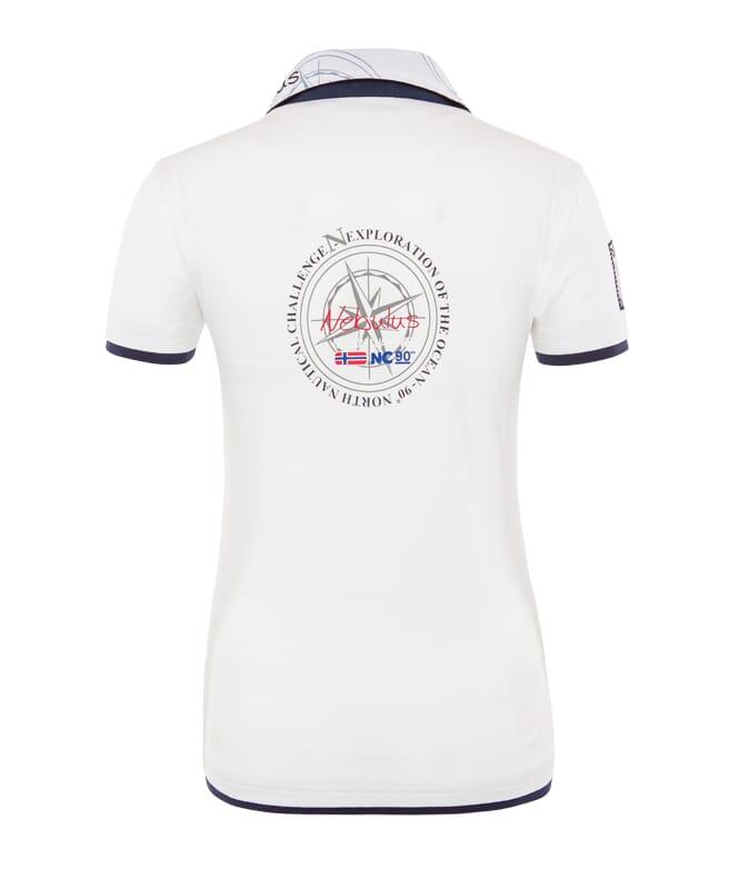 Poloshirt EGERSUND Damen weiß