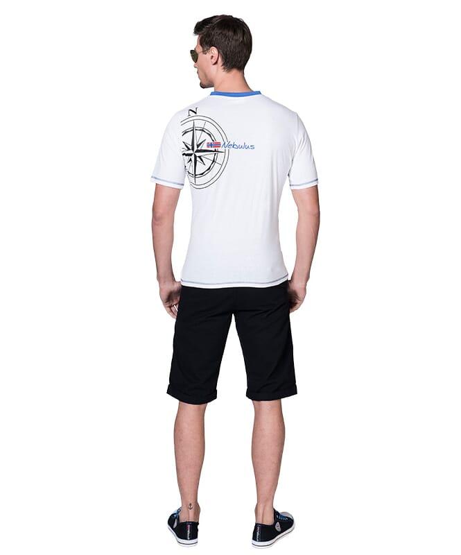 T-Shirt AHOI Herren weiß