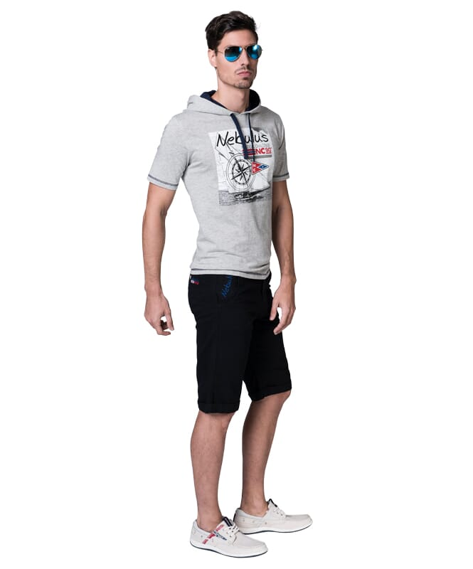 Chino Short DEEP Herren schwarz