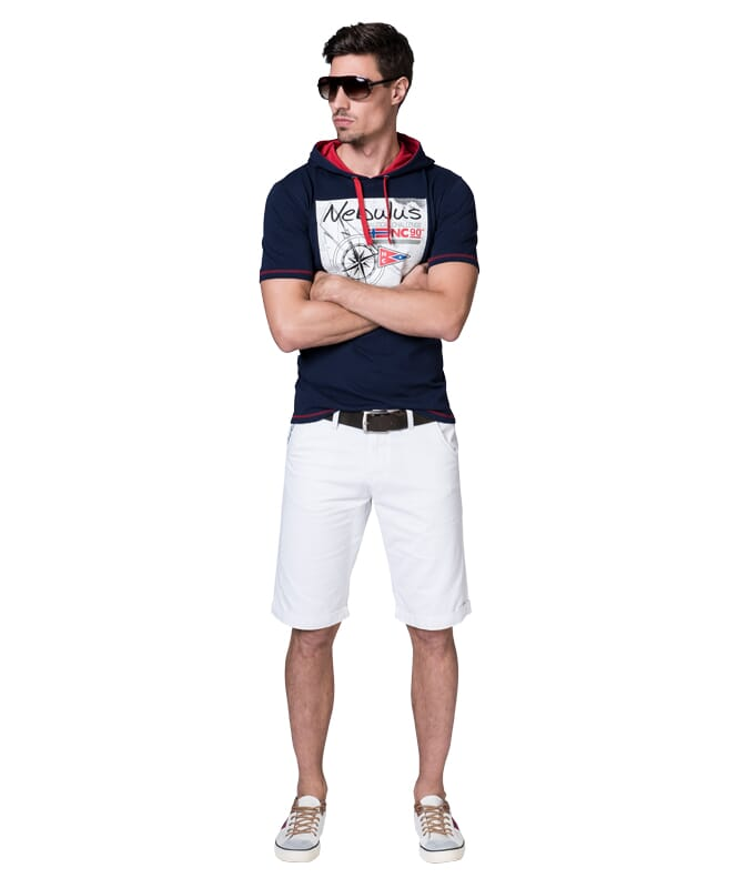 Chino Short DEEP Herren weiss