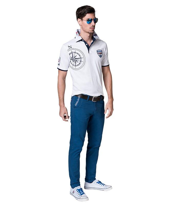 Cotton chino FUTURE Men denim_blau