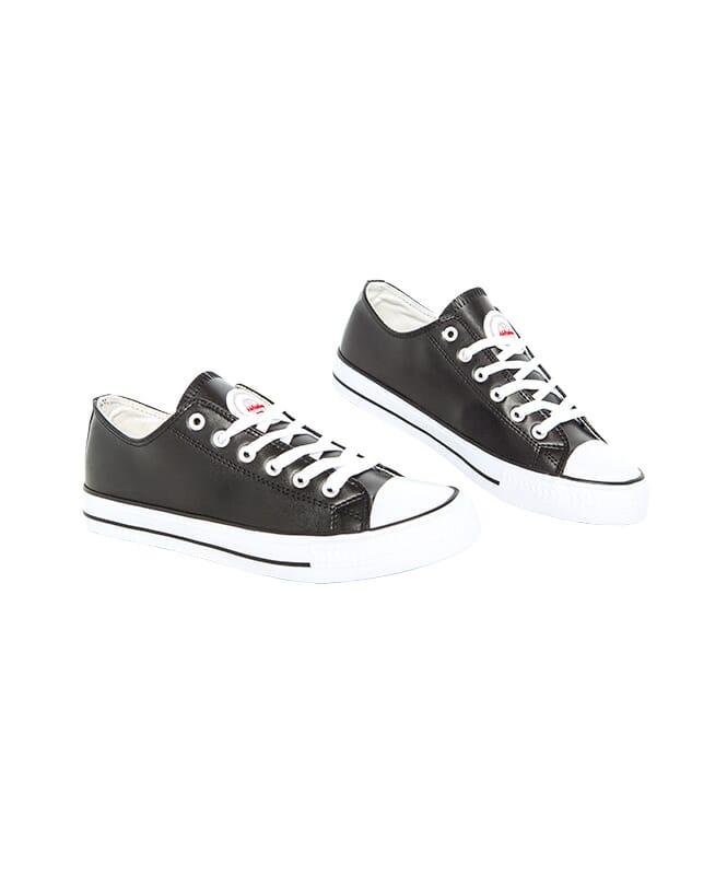 Ledersneaker (niedrig) LEGARA Damen schwarz