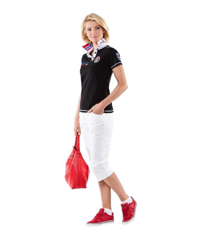 Poloshirt BENTER Damen schwarz