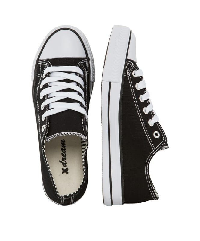 X-dream Sneaker Kinder schwarz (low)