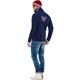 Fleece sweater SKANDINAVIA navy