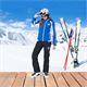 Damen Skijacke SCHWEDEN SKI blau-weiß