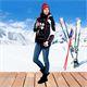 Damen Skijacke DAVOS schwarz