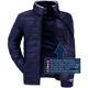 19V69 winter jacket Men schwarz