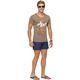 Summerfresh T-Shirt SPLASH braun