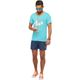Summerfresh T-Shirt SPLASH hellblau
