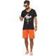 Summerfresh T-Shirt SPLASH schwarz