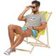 Summerfresh T-Shirt BLUE grau