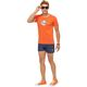 Summerfresh T-Shirt BLUE orange