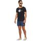 Summerfresh T-Shirt BLUE schwarz