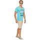 Summerfresh T-Shirt BOARDING hellblau