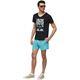 Summerfresh T-Shirt BOARDING schwarz