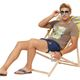 Summerfresh T-Shirt PARADISE hellbraun