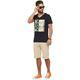 Summerfresh T-Shirt PARADISE schwarz