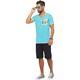 Summerfresh T-Shirt FLORIDA hellblau