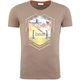 Summerfresh T-Shirt BRASIL hellbraun