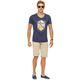 Summerfresh T-Shirt BRASIL navy