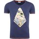 Summerfresh T-Shirt FLORIS navy