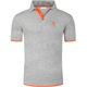 Summerfresh Polo shirt BRAM Men grey melange