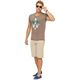 Summerfresh T-Shirt ENZO hellbraun