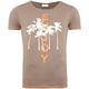 Summerfresh T-Shirt LUAN hellbraun