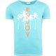Summerfresh T-Shirt LUAN hellblau