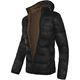 MALEXXIUS Jacket schwarz-braun