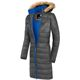 MALEXXIUS Winter jacket LUCRETIA Men anthra-kobalt