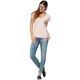 Damen T-Shirt BLUE PALMS rosa