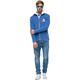 Fleece jacket SAVIO Men hellblau
