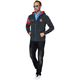 Fleece jacket SEARCHER Men schwarz-melier