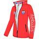 Softshell jacket BURNER Women rot