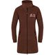 Fleece coat HAMBURG braun