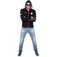 Fleece jacket KINGHOOD Men schwarz
