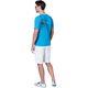 T-Shirt LINES Men malibu_blau