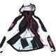 Softshell-Skijacket  ROCKSHELL schwarz-weiß