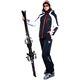 Ski Jacket DAVOS schwarz