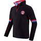 fleece sweater GRAPHICAL schwarz