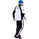 Ski Jacket DAVOS weiß