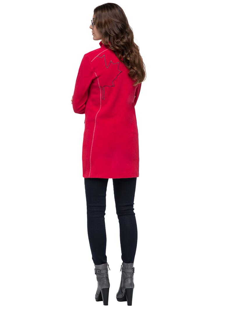 nebulus fleecemantel caren damen mantel jacke kurz mantel t322 ebay. Black Bedroom Furniture Sets. Home Design Ideas