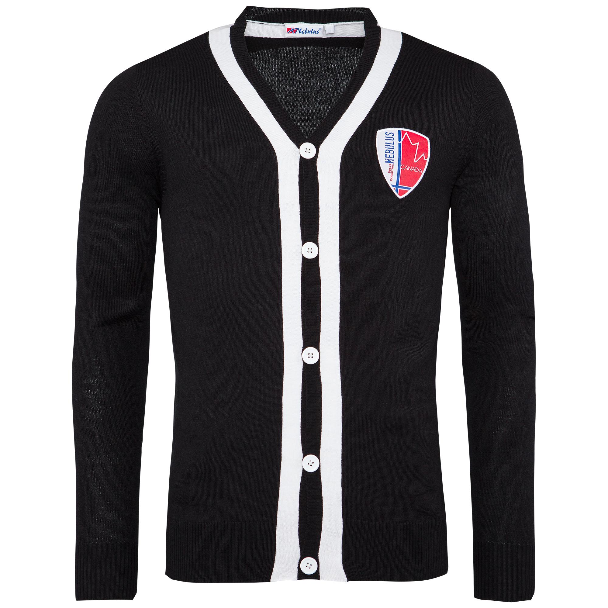 e0c48887fa Nebulus Cardigan Jacket Nevis Faro Arica 028 Faro Schwarz (h) XXL